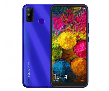 Смартфон Tecno Spark 6 Go KE5j 3/64GB Aqua Blue (4895180762918)