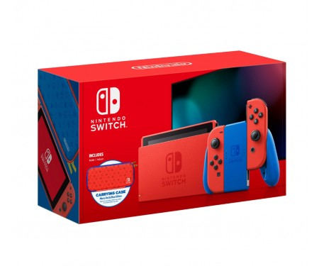 Игровая приставка Nintendo Switch - Mario Red & Blue Edition