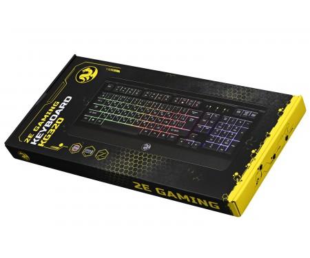 2E Gaming KG320 LED USB Black Ukr