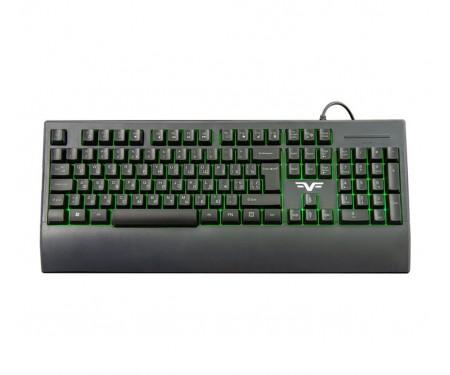 Клавиатура Frime Graphit Black USB RUS/ UKR (FLK19600)