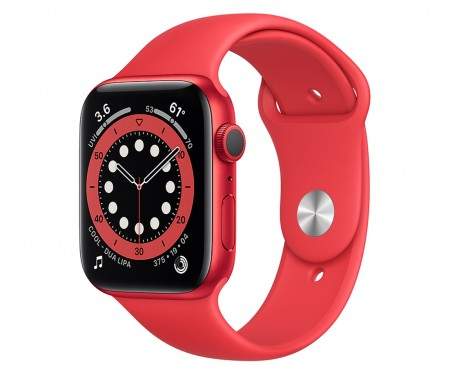 Apple Watch Series 6 GPS + Cellular 44mm PRODUCT(RED) Aluminum Case w. PRODUCT(RED) Sport B. (M07K3)