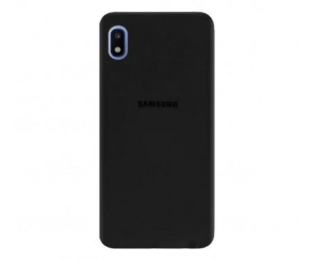 Чехол для Samsung Galaxy A01 Core Silicone Case Black