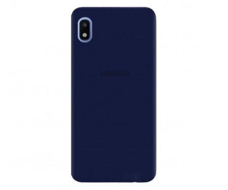 Чехол для Samsung Galaxy A01 Core Silicone Case Blue