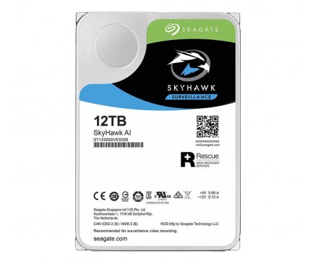 Жесткий диск Seagate SkyHawk AI 12 TB (ST12000VE0008)