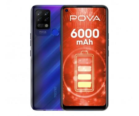 Смартфон Tecno Pova LD7 6/128GB DS Magic Blue (4895180762444)