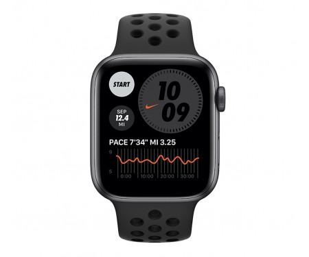 Apple Watch Nike SE GPS + Cellular 40mm Space Gray Aluminum Case w. Anthracite/Black Nike Sport B. (MYYU2) 2