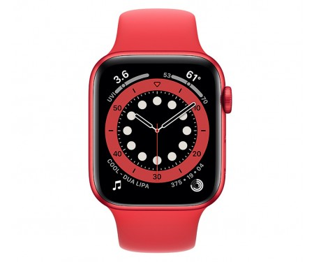 Apple Watch Series 6 GPS + Cellular 40mm (PRODUCT)RED Aluminum Case w. (PRODUCT)RED Sport B. (M02T3) 2