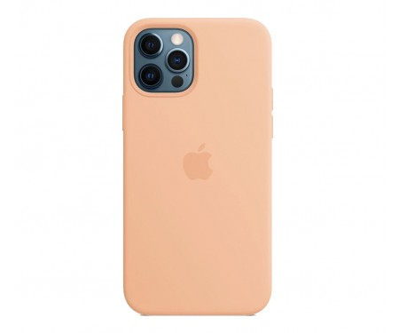 Чехол для Apple iPhone 12 Pro Max Silicone Case with MagSafe Cantaloupe Copy