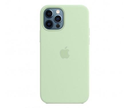 Чехол для Apple iPhone 12 Pro Max Silicone Case with MagSafe Pistachio Copy