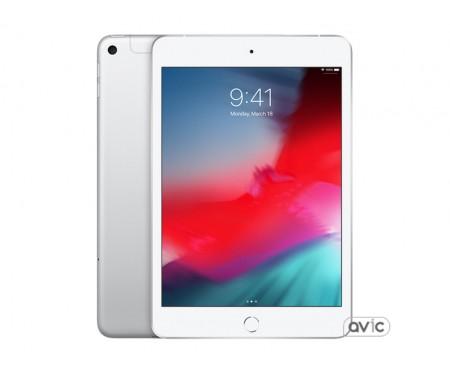 Планшет Apple iPad mini 5 Wi-Fi + Cellular 64GB Silver (MUXG2, MUX62) 1