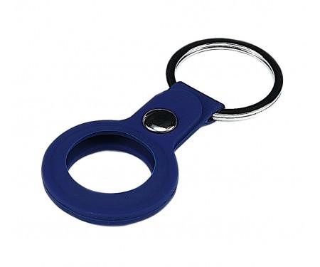 Чехол для поискового брелка Apple AirTag Silicone Key Ring Midnight Blue