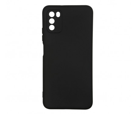Чехол для Xiaomi Poco M3 ICON Case Black