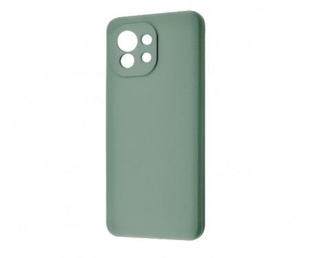 Чехол для Xiaomi Mi 11 Lite WAVE Silicone Cover Cyprus Green