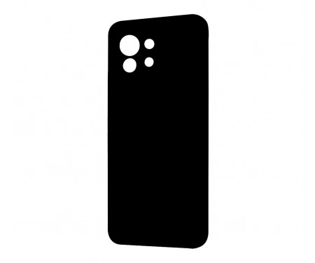 Чехол для Xiaomi Mi 11 WAVE Silicone Cover Black