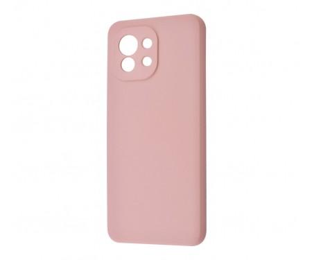 Чехол для Xiaomi Mi 11 WAVE Silicone Cover Pink Sand