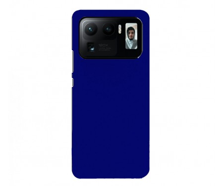 Чехол для Xiaomi Mi 11 Ultra WAVE Silicone Cover Midnight Blue