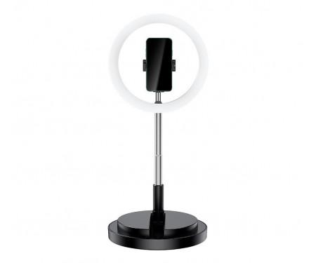 Держатель для телефона с кольцевым освещением 168 см USAMS US-ZB120 Black