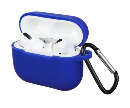 Чехол для Airpods Pro Silicon case Royal Blue
