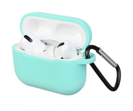Чехол для Airpods Pro Silicon case Sea Blue
