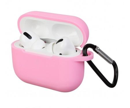 Чехол для Airpods Pro Silicon case Light Pink
