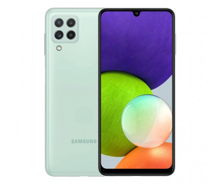 Смартфон Samsung Galaxy A22 2021 A225F 4/64GB Light Green (SM-A225FLGDSEK)