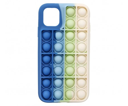 Чехол для Apple iPhone 12/12 Pro Upex Pop It Series Blue White