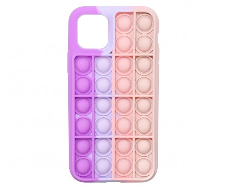 Чехол для Apple iPhone 12/12 Pro Upex Pop It Series Purple