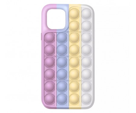 Чехол для Apple iPhone 12/12 Pro Upex Pop It Series Pink Blue