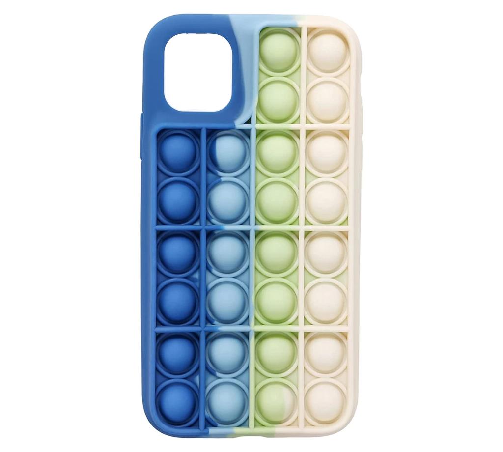 Чехол для Apple iPhone 12 Pro Max Upex Pop It Series Blue White