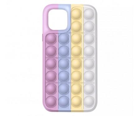 Чехол для Apple iPhone 12 Pro Max Upex Pop It Series Pink Blue