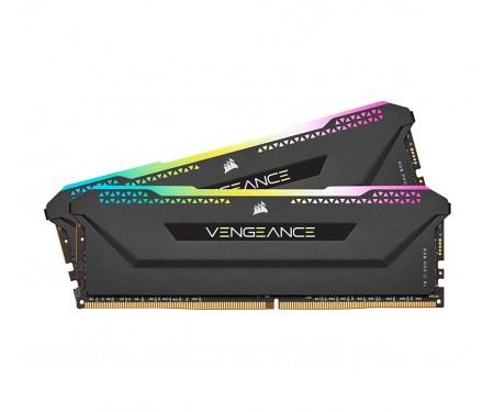 Модуль Corsair 32 GB (2x16GB) DDR4 3600 MHz Vengeance RGB (CMH32GX4M2Z3600C18)