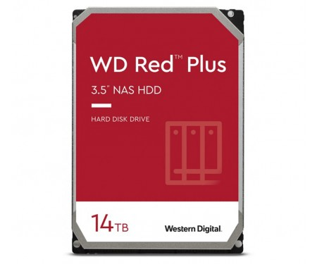 Жесткий диск WD Red Plus 14 TB (WD140EFGX)