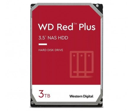 Жесткий диск WD Red Plus 3 TB (WD30EFZX)