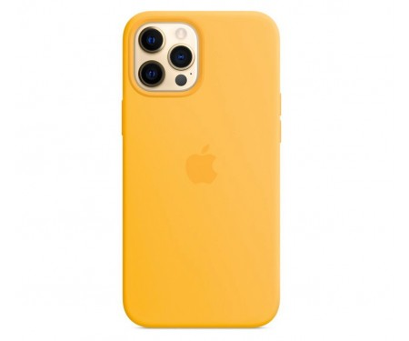 Чехол для Apple iPhone 12/12 Pro Silicone Case with MagSafe Sunflower Copy