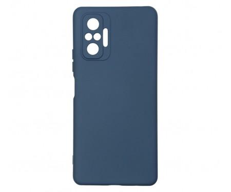 Чехол для Xiaomi Redmi Note 10 Pro ICON Case Dark Blue (ARM58261)
