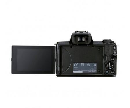 Фотоаппарат Canon EOS M50 Mark II kit (15-45mm) IS STM Black (4728C043)