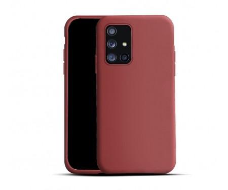 Чехол для Samsung Galaxy A12/M12 Silicone Case Сoral