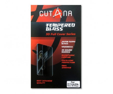 Защитное стекло для iPhone 11 Pro Max/Xs Max Cutana Black