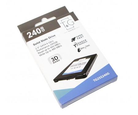 """SSD накопитель T&G 240GB SATAIII, 2.5"""", 3D TLC (TG25S240G)"""