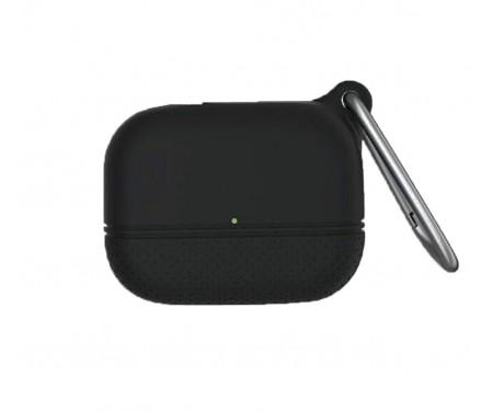 Чехол для Airpods Pro AmazingThing Waterproof Bullet Case Black