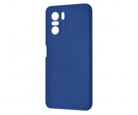 Чехол для Xiaomi Poco F3/Mi 11i/Redmi K40/Redmi K40 Pro WAVE Colorful Case Blue