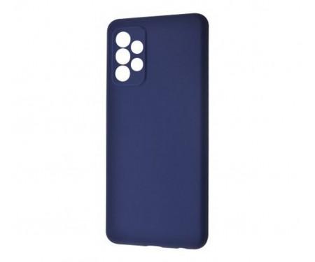 Чехол для Samsung Galaxy A72 Silicone Case Midnight Blue