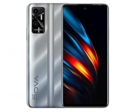 Смартфон Tecno Pova-2 LE7n 4/128GB DS Polar Silver (4895180768484) 1