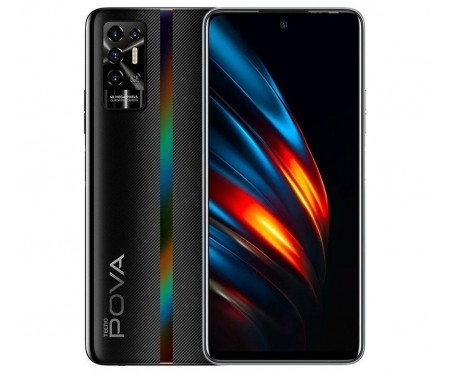 Смартфон Tecno Pova-2 LE7n 4/128GB DS Dazzle Black (4895180768491) 1
