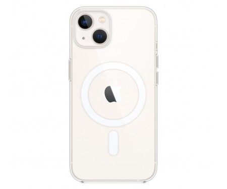 Чехол для Apple iPhone 13 Clear Case with MagSafe (MM2X3)