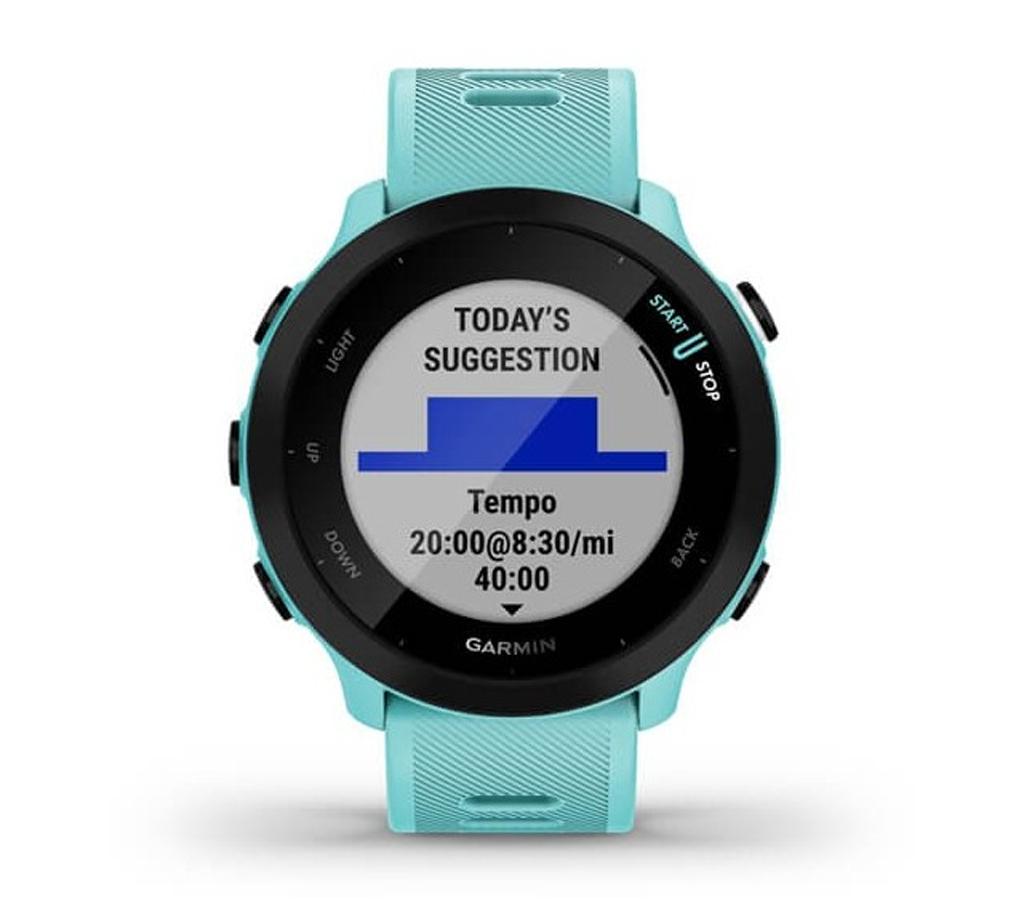 Смарт-часы Garmin Forerunner 55 Aqua (010-02562-12)