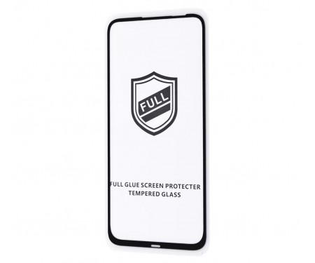 Защитное стекло для Realme C11/Oppo A15/A15s Full Glue Black