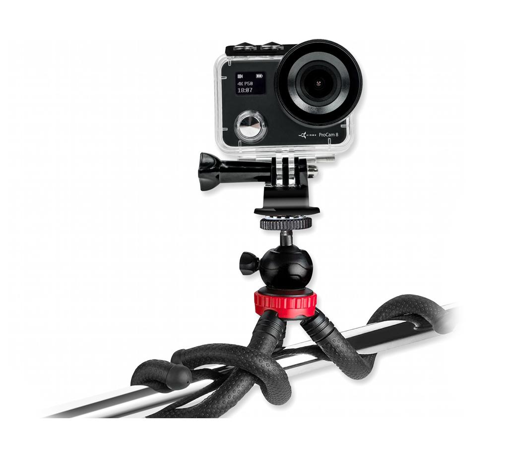 Набор блогера 12 в 1: экшн-камера AIRON ProCam 8 с аксессуарами (4822356754795)