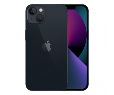 Смартфон Apple iPhone 13 128GB Dual Sim Midnight (MLDU3)