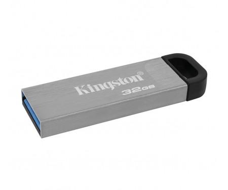 Флеш-накопитель USB3.2 64GB Kingston DataTraveler Kyson Silver/Black (DTKN/64GB)